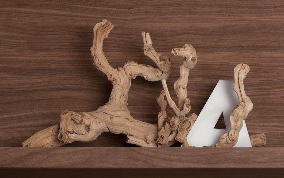 3D-printa logotype som kan stå plassert på hyller osv som dekor