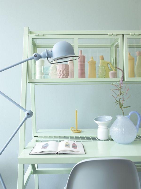 Home Office In Pastellfarben   Ein Heißer Trend Im Raumdesign   Fresh Ideen  Für Das Interieur, Dekoration Und Landschaft