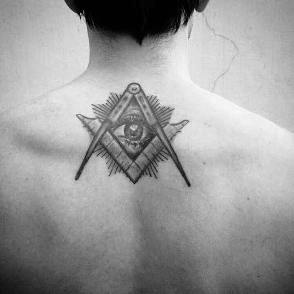 90 Masonic Tattoos For Men Freemasonry Ink Designs Masonic