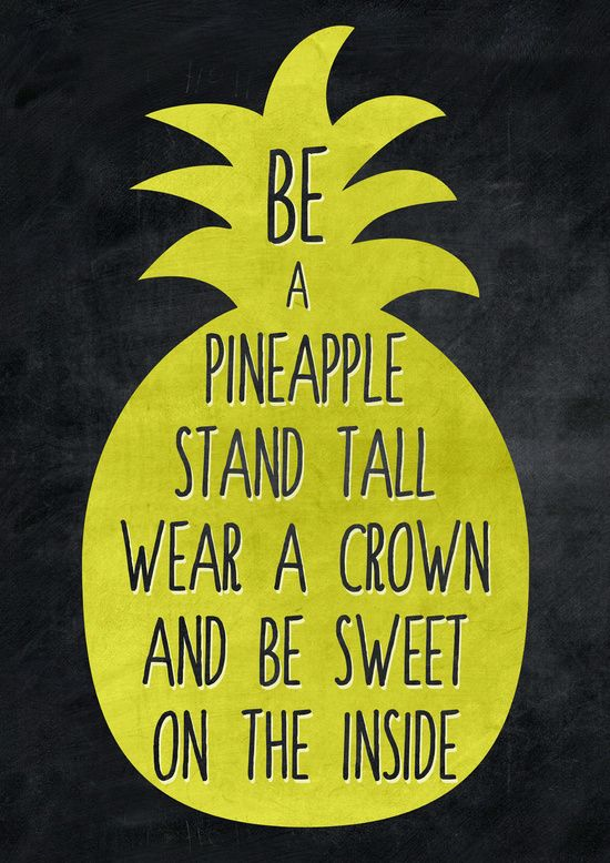 Be A Pineapple Art Print. Summer Party QuotesParty QoutesLets ...
