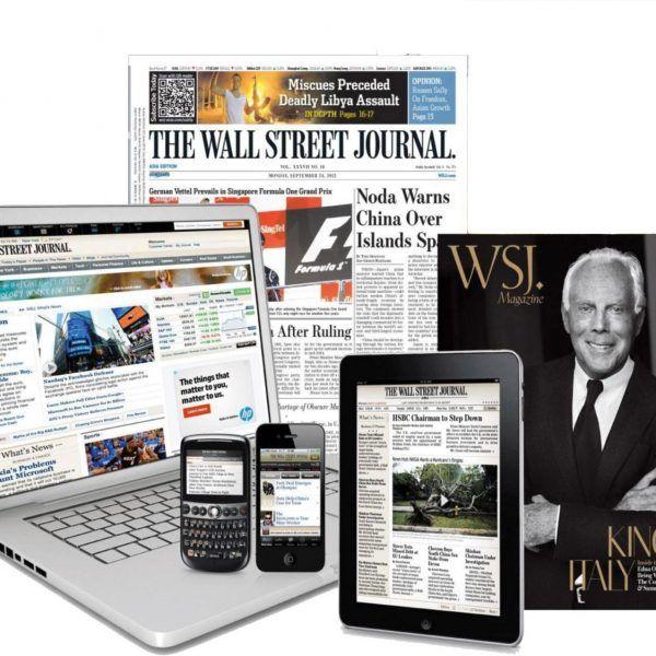 Wsj.com Subscription Hot Deals & Coupon Codes