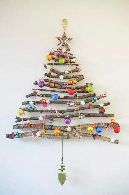 Kerstboom Takken Christmas Kerstboom Ideeen Kerst Knutselen En Kerst Ornament