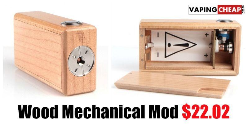 Wood Mechanical Mod Jpg 800 400 Ide Hadiah Desain Ide