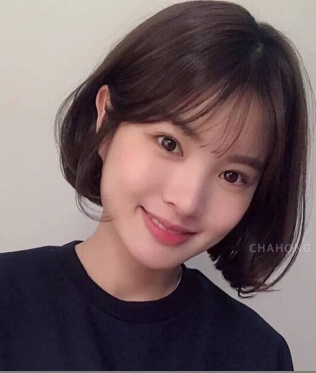 These are the hottest Korean bangs in 2019 - TOP BEAUTY LIFESTYLES in 2020 | Short hair styles ...