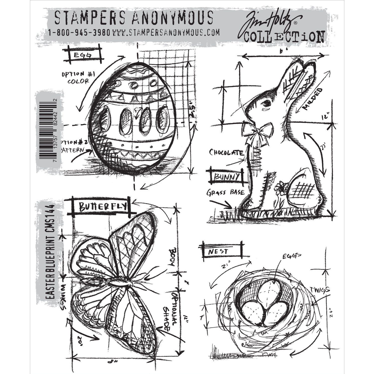 Tim holtz cling rubber stamp set easter blueprint amazon kche tim holtz cling rubber stamp set easter blueprint amazon kche malvernweather Gallery