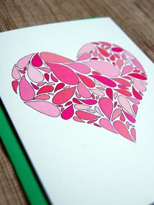 this would be fun with lots of different patterned papers!