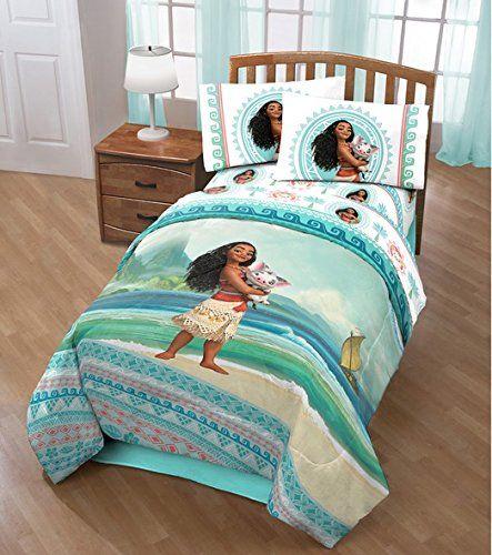 Disney Moana The Waves 4pc Twin Sheet Set /& Comforter