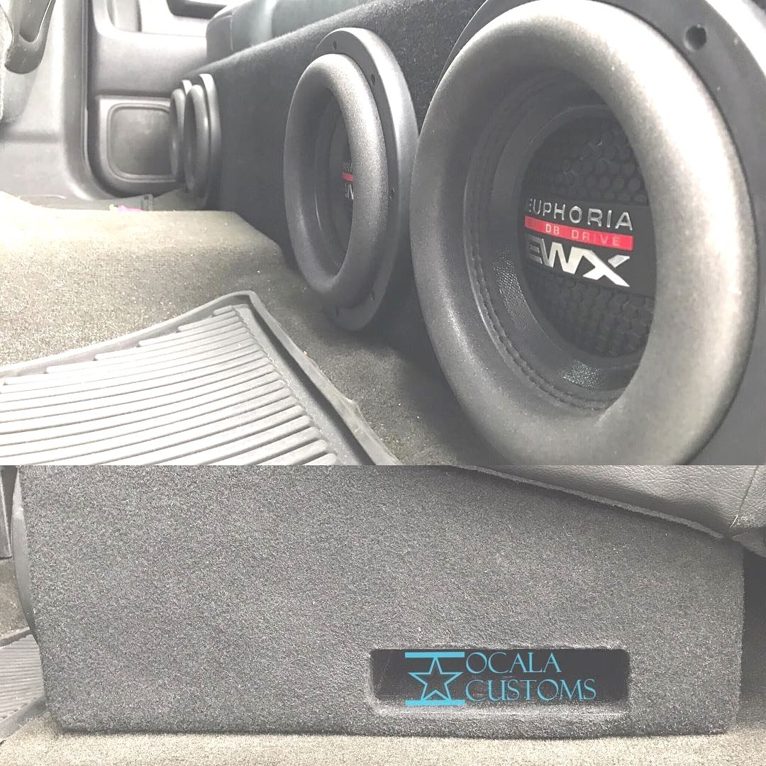 medium resolution of nissan titan crew cab custom box 2 10 subwoofers amp projects to try nissan titan nissan custom car audio