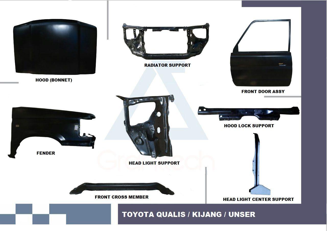 Toyota Qualis Body Parts, Toyota Kijang Body Parts, Toyota Unser ...