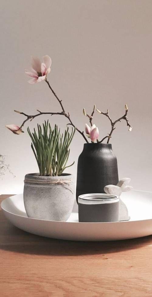 25 Diy Deko Ideen Zu Ostern Dezente Vasen Als Tischdeko Mit8
