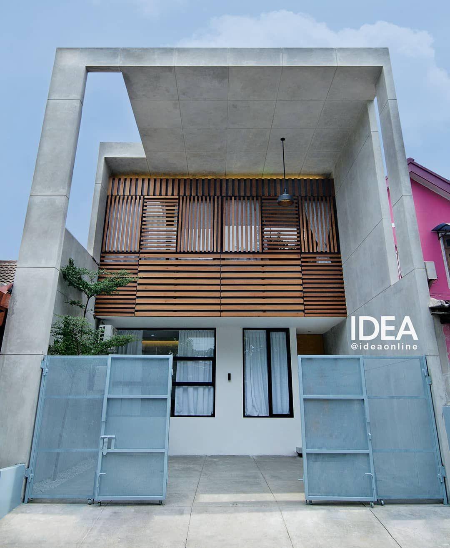 Double Height House Desain Praktis Dan Fungsional Diterapkan