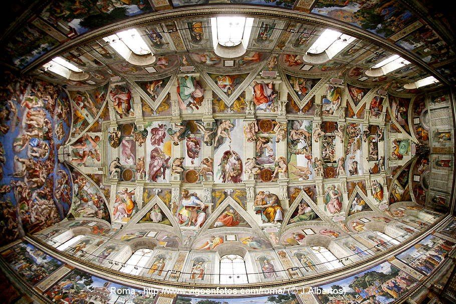 Sistine Chapel Ceiling, Arts And Facts: Episode Michelangelo