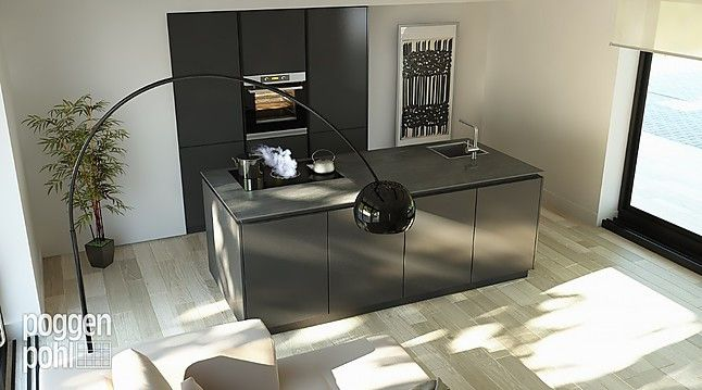+SEGMENTO+Die grifflose Küche in zeitlosem Design+ Keuken