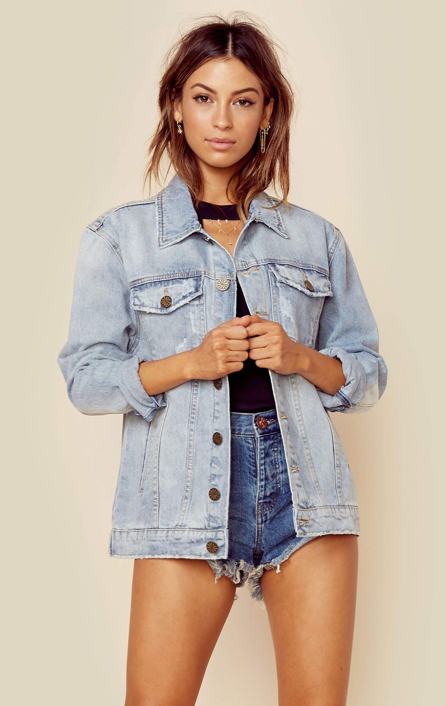 Drine denim jacket california girl style denim jackets and mini