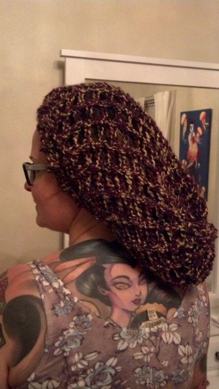 Barks Open Weave Loom Knit Hat by Down Home Girl | Loom ...