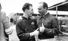 Moss - Fangio