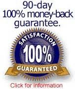 """ALL OF """"YOU FEEL LIKE CRAP DOT COM"""" MORINGA PRODUCTS COME WITH A 90 DAY MONEY-BACK GUARANTEE"""