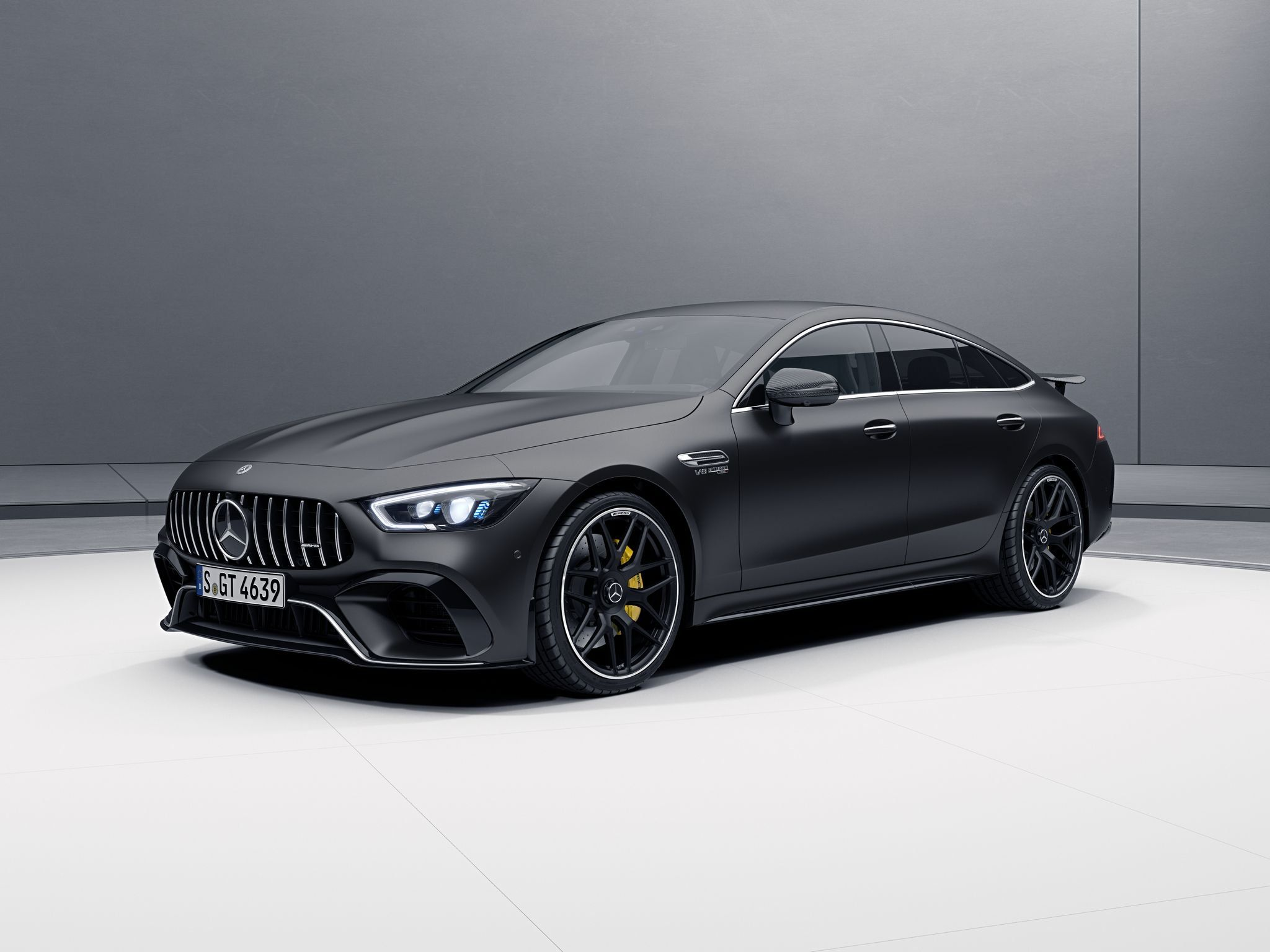 Give Your Mercedes Amg Gt 4 Door Added Presence With This Aero Kit Carscoops Mercedes Amg Black Mercedes Benz Mercedes Benz Amg