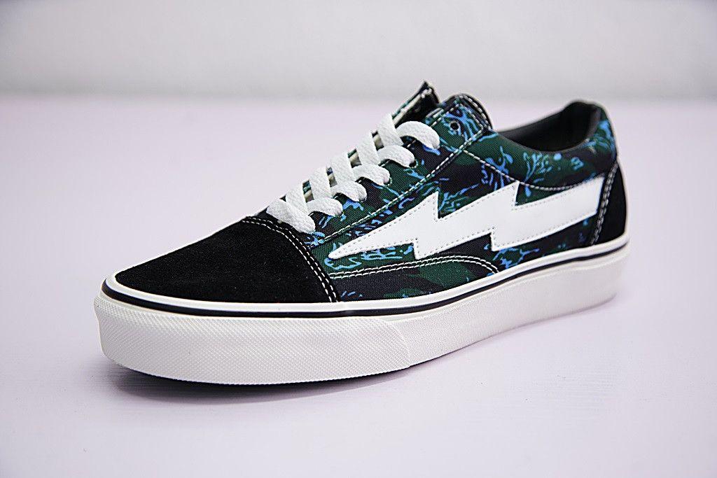 Vans Revenge X Storm Dark Blue Black Camo 008243215 Vans Boots Men Sneakers