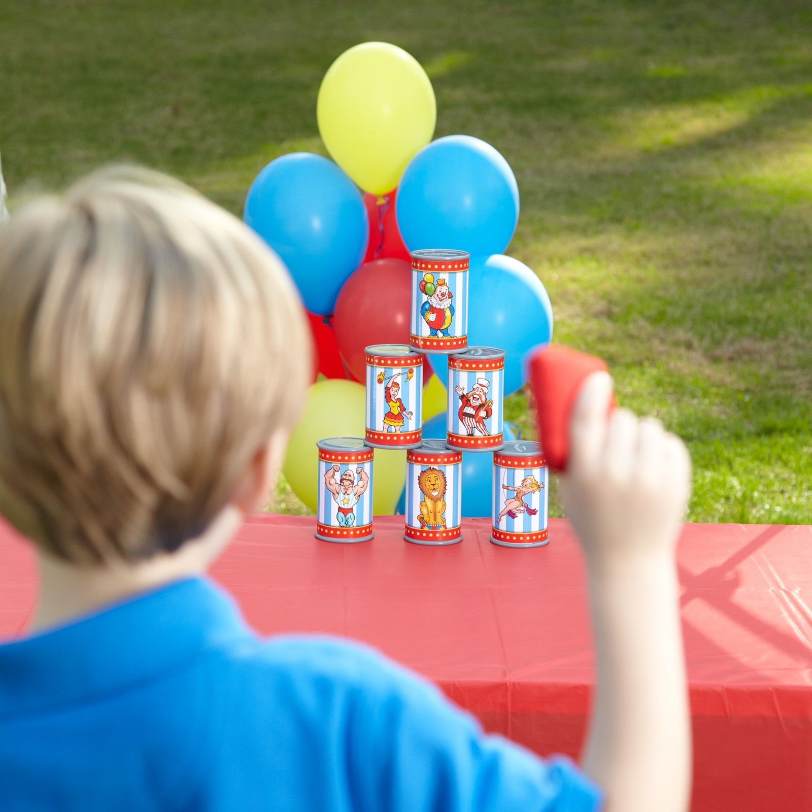 Under The Big Top Can Toss Bean Bag Game Birthday