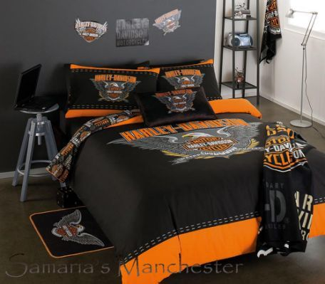 Find This Pin And More On Acessoire Harley Davidson Queen Duvet Cover