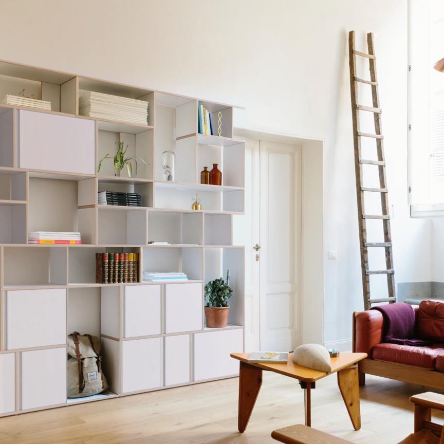 Tylko: create the ideal shelves and wardrobes for your home