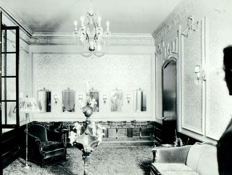 Saenger Theatre Ladies Powder Room From The 1920 S Prom Decor Art Nouveau Living Dining Room