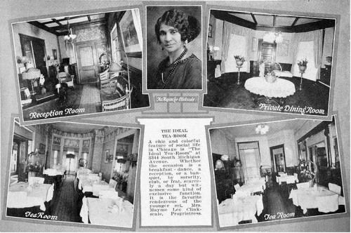 African-American tea rooms | Black Culinary History