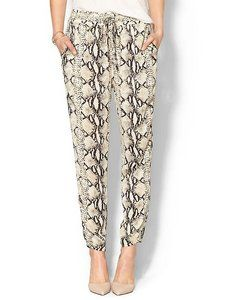Arc & Co. Snake Print Soft Pant // Hukk to find out when it goes on sale! #hukkster #Arc&Co.
