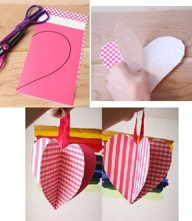 Como fazer um cartão de coração - umComo