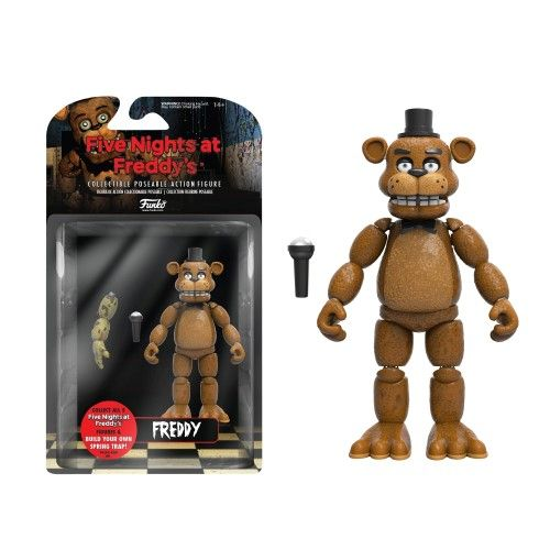 Funko Articulated Action Figure: Fnaf, Freddy, Multi