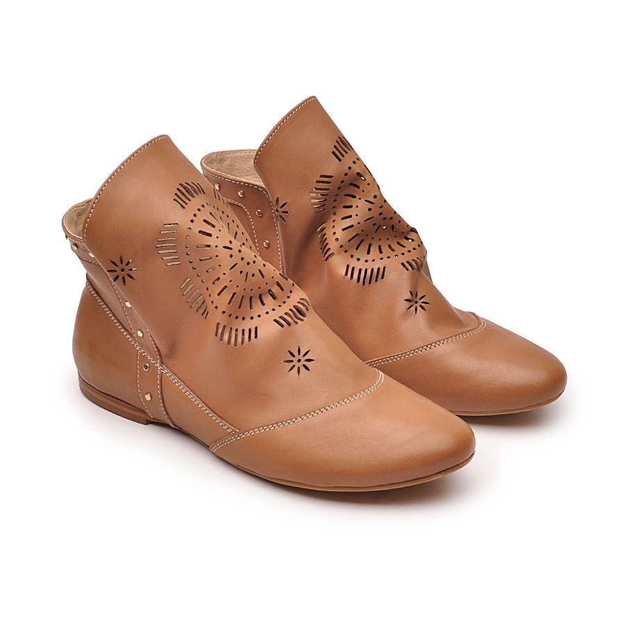 Lekkie Botki Azurowane Miekka Skora Styl I Wygoda Boots Ankle Boot Shoes