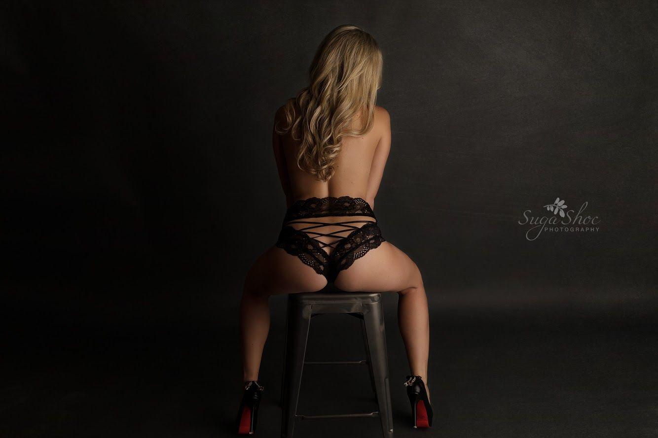 Sexy black behind