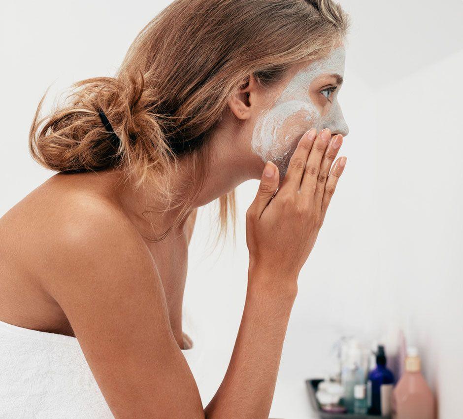 So einfach wirst du Mitesser los  ohne Entzündung Skin Gritting  Tonerde Mitesser loswerden