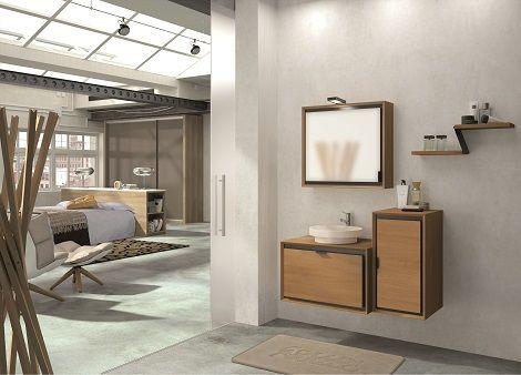 Collin Arredo - meuble de salle de bain en bois - Domino L 107