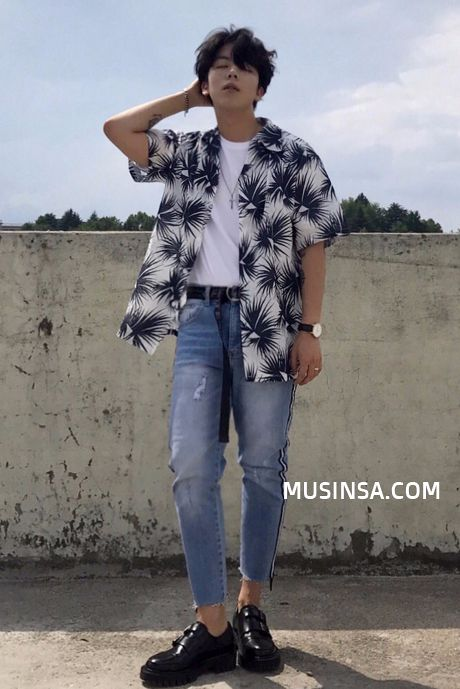 Musinsa Street Summer Style 2017 Staff Snap Asian Men Fashion Mens Fashion Streetwear Korean Fashion Men