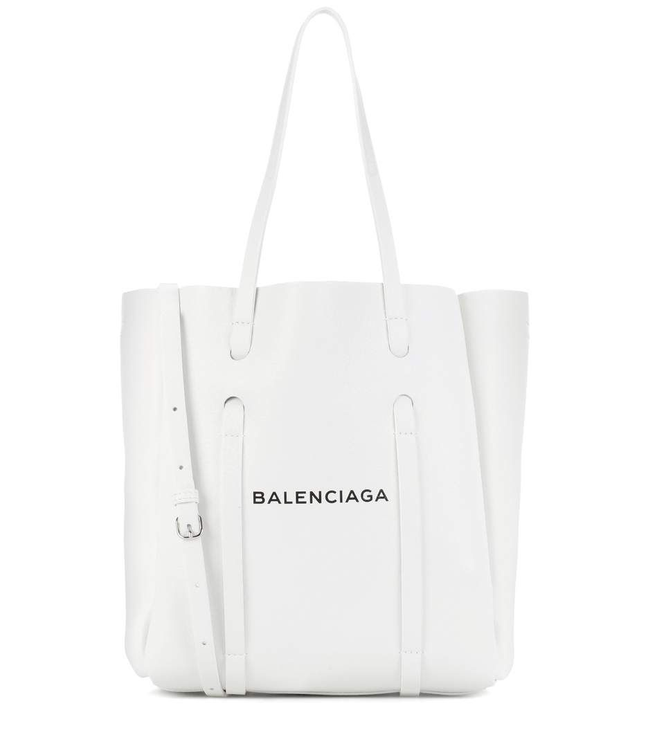 Leather shopper balenciaga mytheresa wish list pinterest