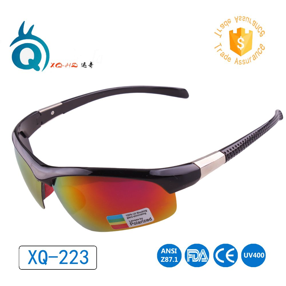 0f3ff5e71d2 2017 Polarized Hiking Cycling Glasses Bicycle Sun glasses Sports Eyewear  metal accessoires man women high-quality