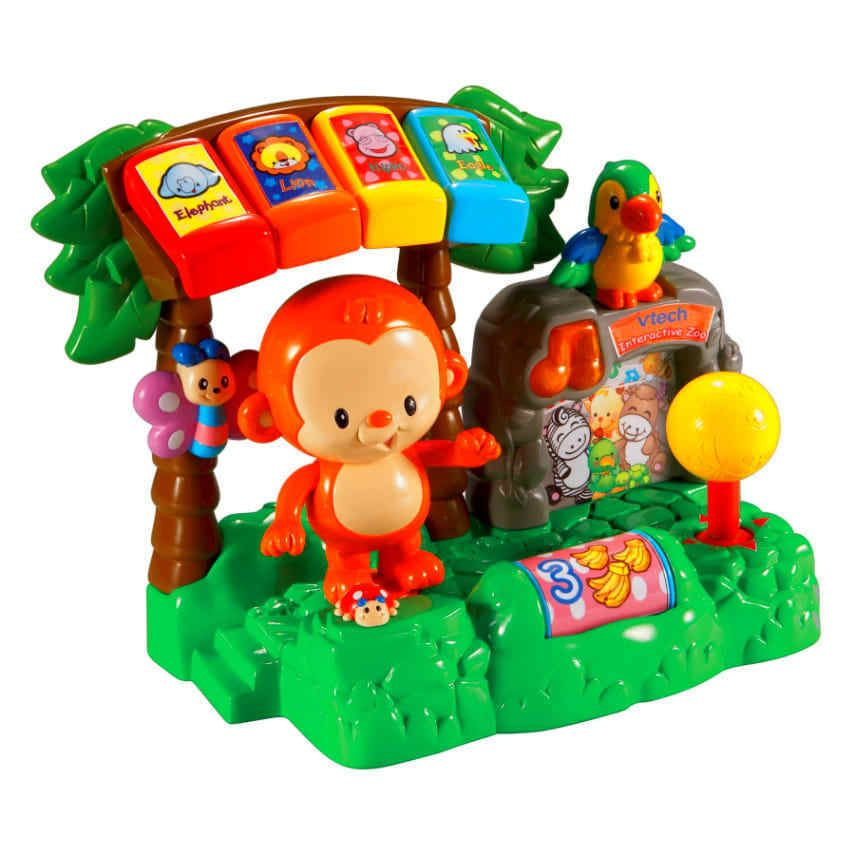 VTech Learn and Dance Interactive Zoo Toddler Kids Baby ...