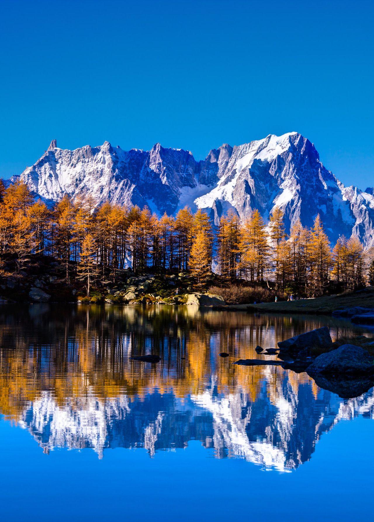 Coiour My World Mont Blanc Andrea Mucelli Beau Paysage Mont Blanc Paysage