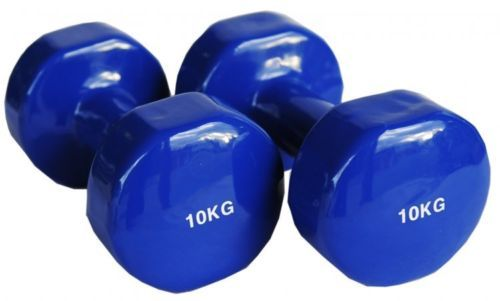 2x 10kg Vinyl Coat Dumbbells Solid Dumbell Arm Hand Gym Weights Strength 781871307596 Ebay Dumbbell Dumbell Weight