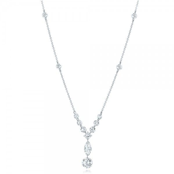Custom Laser Linked Diamond Necklace Joseph Jewelry Bellevue