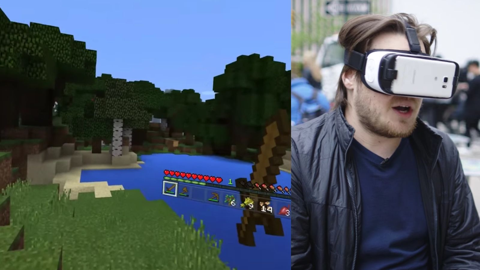 Minecraft is great in Gear VR  Minecraft, Greatful, Mmos