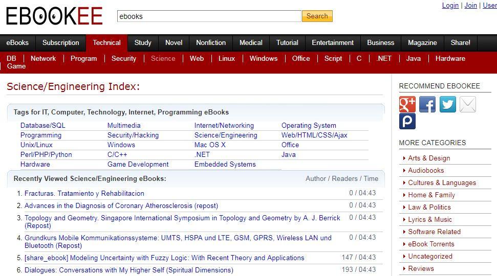 Ebookee Proxy/Mirror Sites | Top 3 Alternatives to Ebookee | New