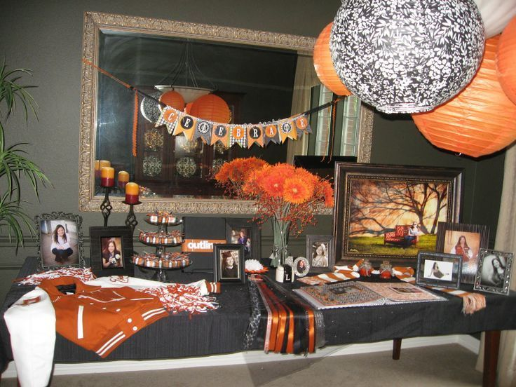 decorating ideas for high school graduation party