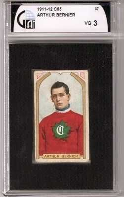 Graded 102 year old tobacco card! Love the black border that GAI used in the encapsulation.