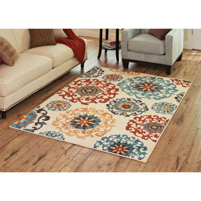 Turquoise and brown rugs google search basement ideas - Brown and turquoise living room rugs ...