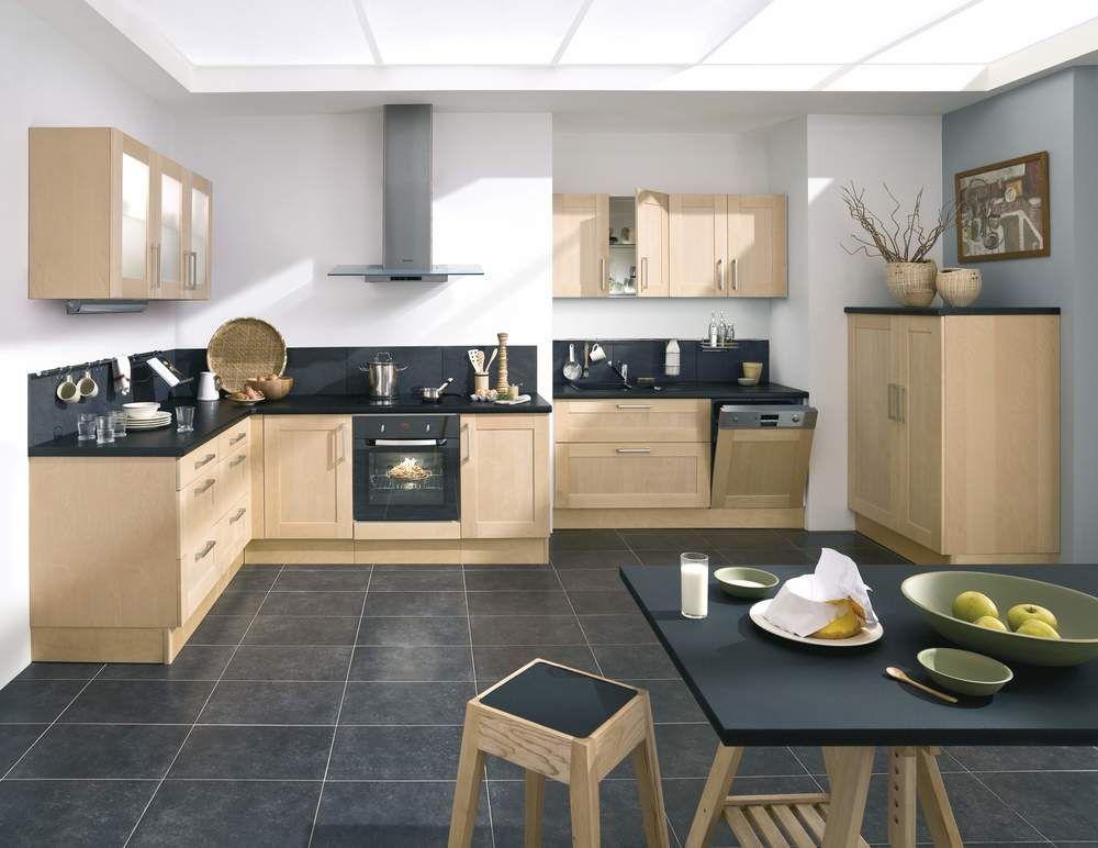 Cuisine Lapeyre Bouleau Idées Déco Pour Relooker Votre - Lapeyre meuble haut cuisine pour idees de deco de cuisine