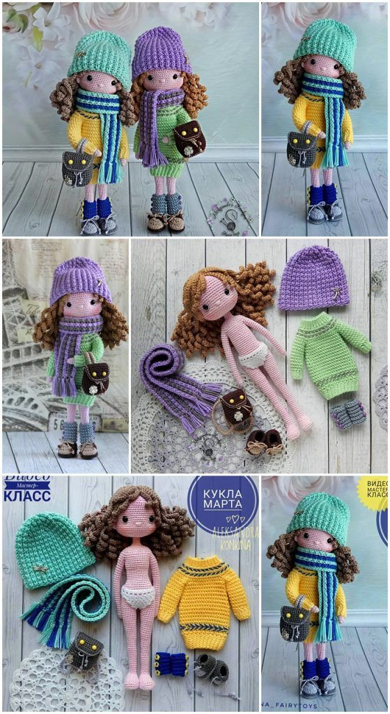 Free Amigurumi Doll And Animal Crochet Patterns – FREE AMİGURUMİ CROCHET #crochetdolls