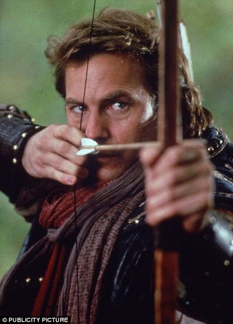 Ooh - Kevin Costner as Robin Hood... (I think I'll go and lie down now.)